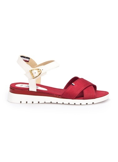 U.S. Polo Assn. Sandalet Bordo